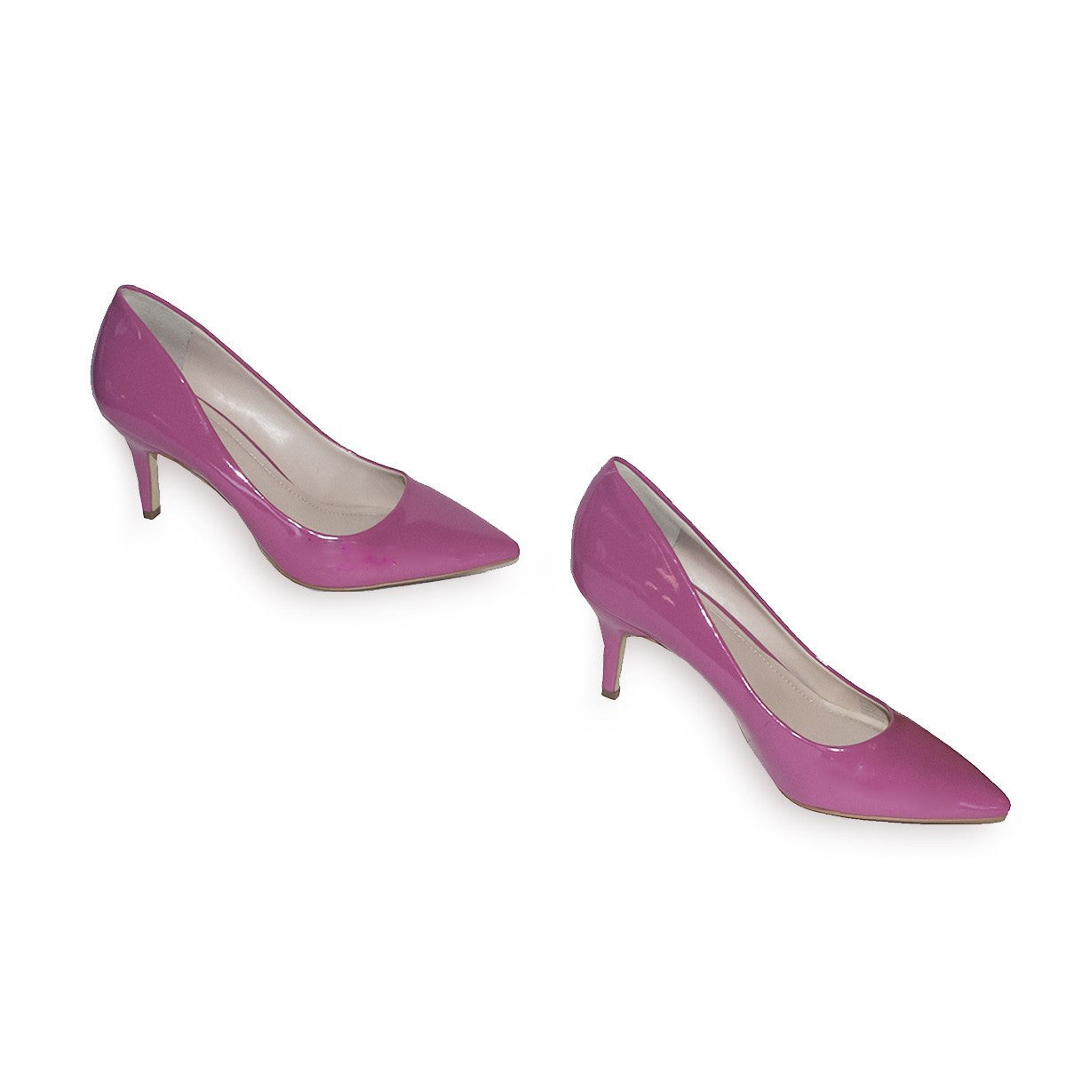 BCBGeneration High Heel Pump, Pink Patent Leather 4