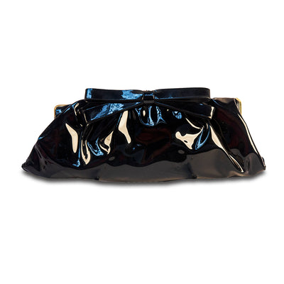 patent leather handbag, patent leather clutch, 50s patent leather, 1950s patent leather