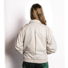 90s bomber jacket, stand up collar,