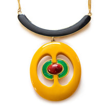 1970s Christian Dior Mod Pendant Necklace