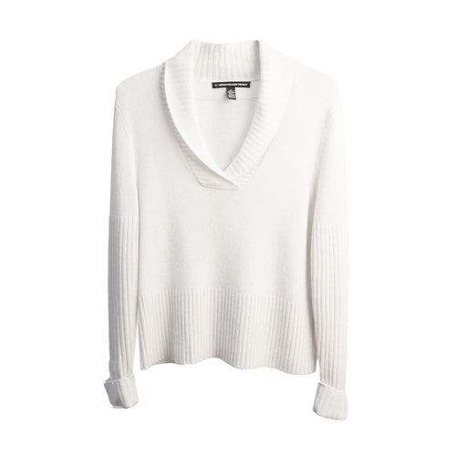 Vintage White Cashmere Sweater by Ellen Tracy Company