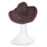 Brown Raffia Sun Hat 2
