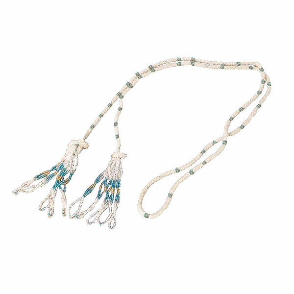 Vintage Glass Bead Tassel Sautoir Necklace<br>Flapper Style