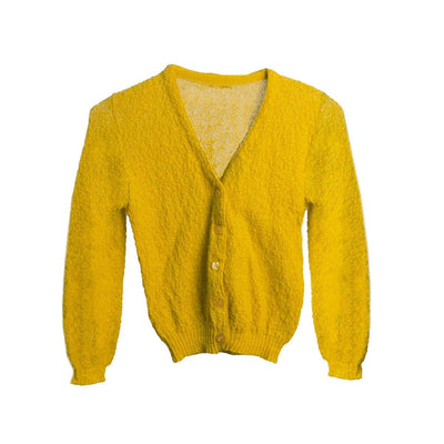 Vintage Gold Knit Cardigan