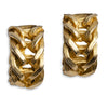 Norma Jean Gold Metal Hoop Earrings