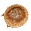 Vintage gold straw hat 6