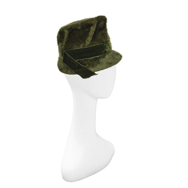 1960s Green Mod Bucket Hat by Saks Fifth Avenue