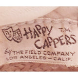 35540863b5d Vintage 1950s Happy Cappers Straw Sun Hat 9