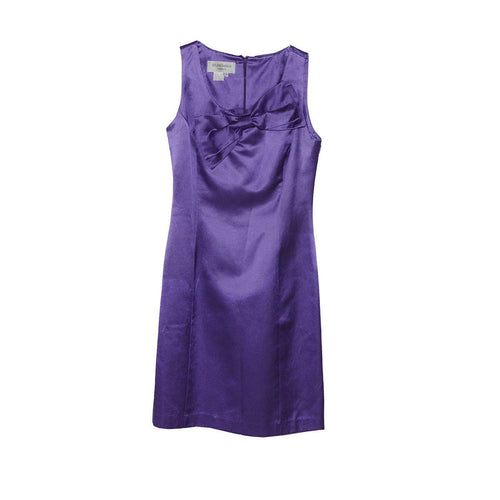 1990s Purple Cocktail Dress by Helene Berman London, Size 4