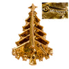 Hollycraft jewelry mark, Christmas Tree pin, Christmas tree brooch