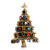 Vintage 1950s Hollycraft Christmas Tree Pin - Brooch
