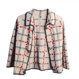 Vintage 1960s Gentucca Gia Portofino Wool Cardigan, Hand Embroidered