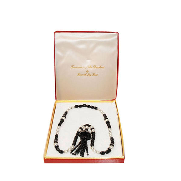 Kenneth Jay Lane (KJL) Treasures of the Duchess Tassel Necklace