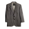 Vintage Lanvin Men's Jacket, Gray Camel Hair