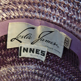Leslie James hat label