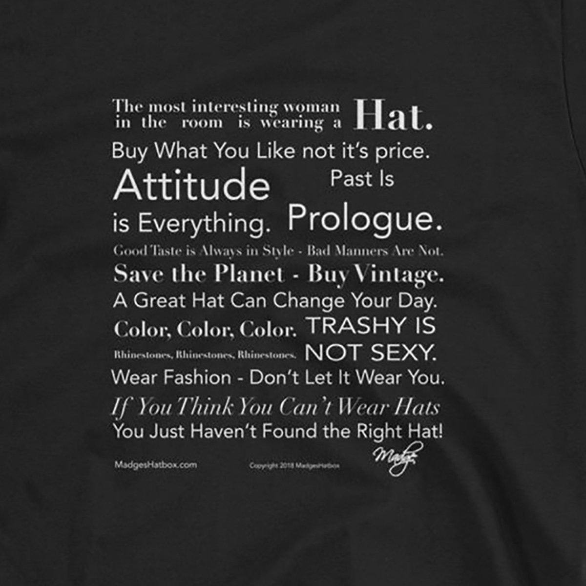 Fashion Manifesto Black T-Shirt 3
