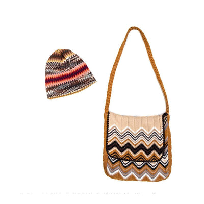 Missoni Knit Satchel Messenger-style Shoulder Bag 3 from Ebony Fashion Fair