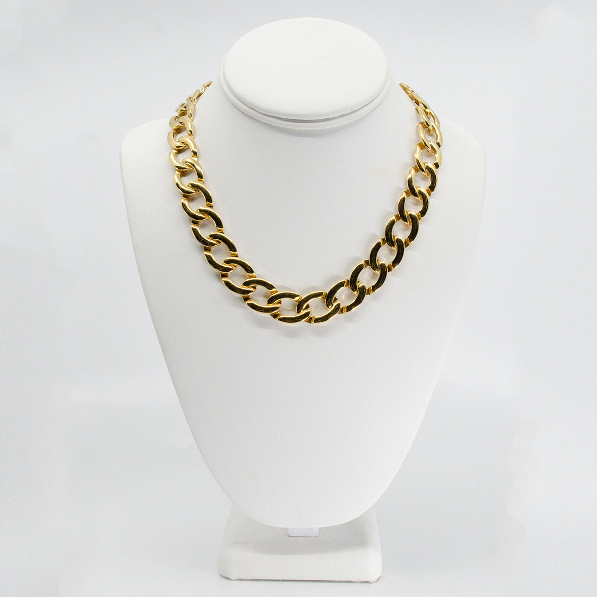 monet choker, gold choker, gold metal necklace