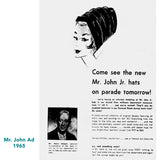Mr. John Hat ad 1965