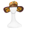 Boho Wide Brim Straw Hat 2
