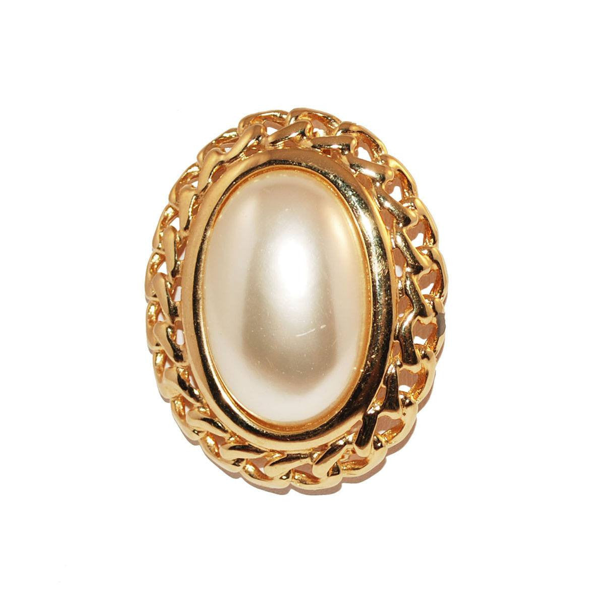 1970s Napier Mabe Pearl Brooch 3