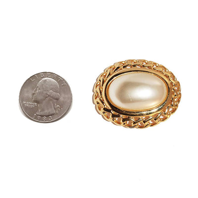 1970s Napier Mabe Pearl Brooch 5