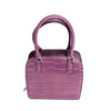 purple purse, small purse, small handbag
