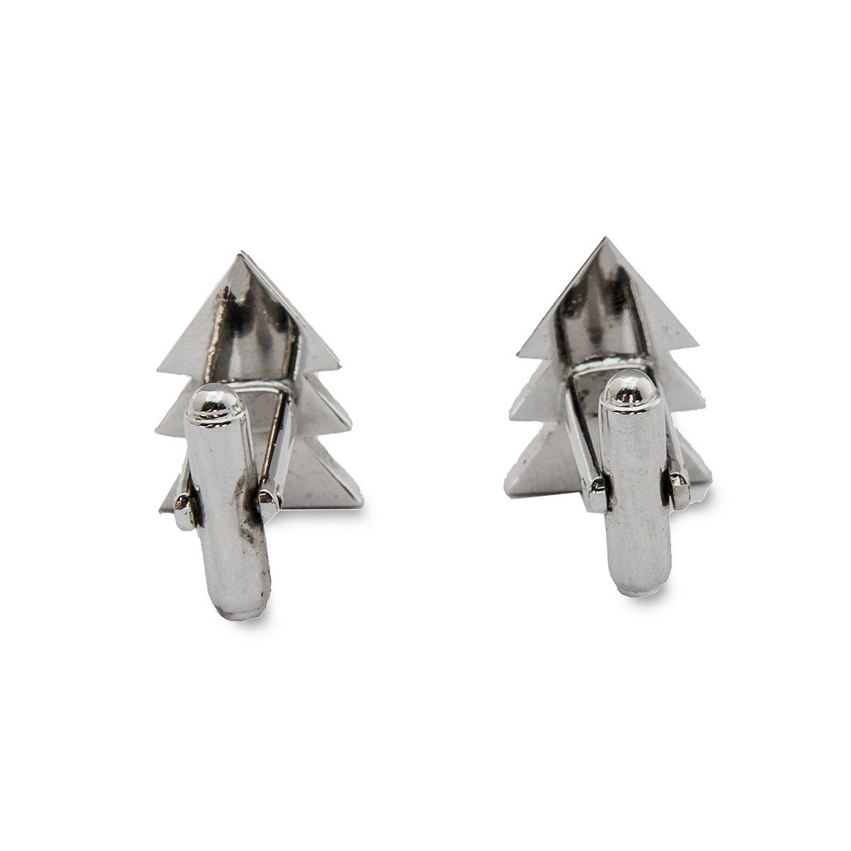 Vintage Cufflinks 3, Silver Arrow with Rhinestones
