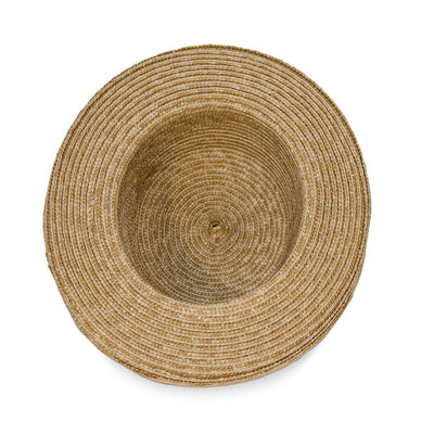 Vintage Straw Hat, Gold Lame Bow & Hatband 7