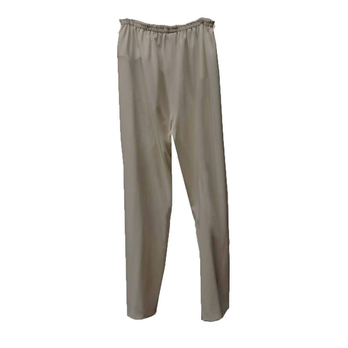 Tan Straight Leg Pants 2, Elastic Waist, XL