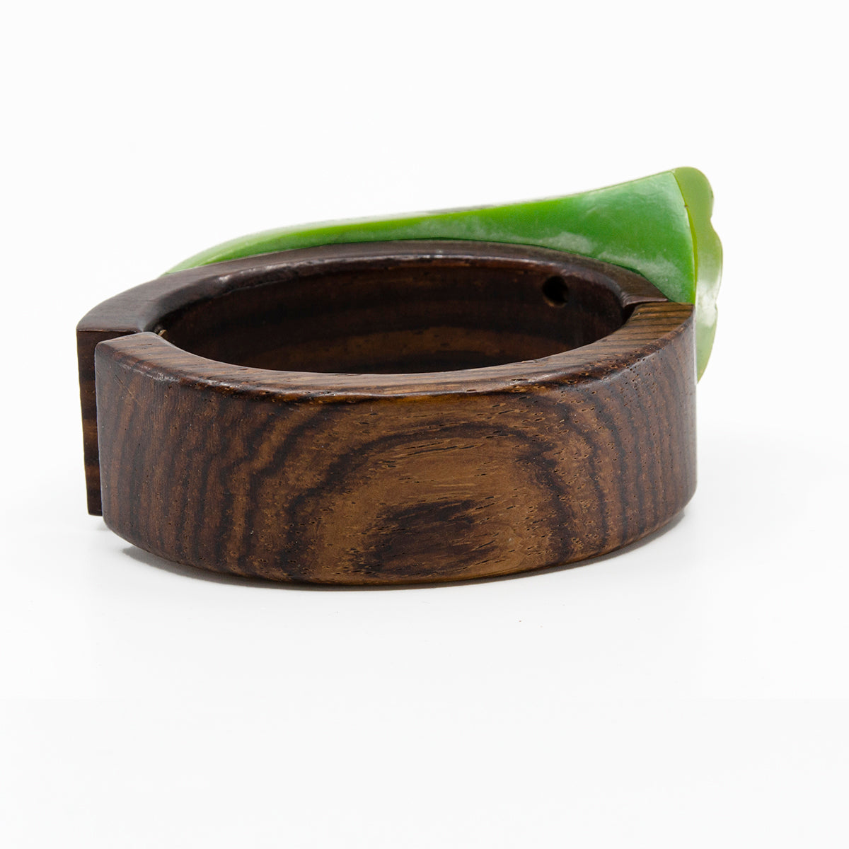 wooden bracelet, wooden bangle, wooden clamper