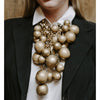 fashionable chunky necklaces, season's hottest looks, vintage bib necklace