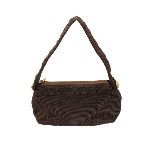 1940s Brown Corde Purse from Lamar