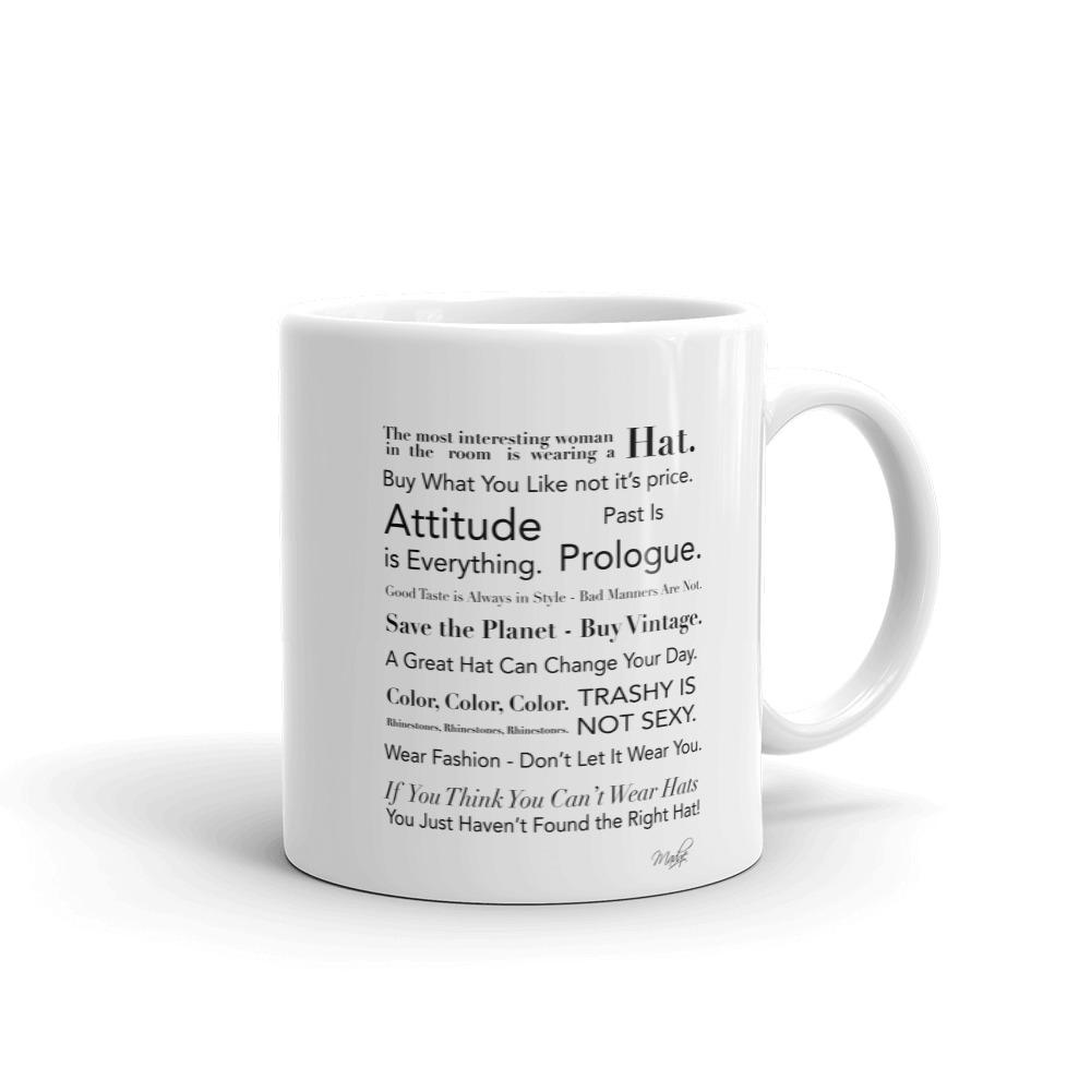 Madge's Fashion Manifesto Mug