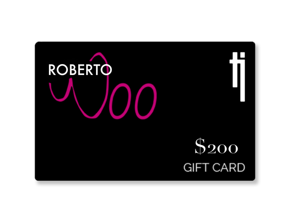 Roberto Woo $200 Gift Card - Topaz Jewelry USA - TOPAZ JEWELRY USA