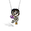 Gallica - Silver Bloom Bouquet Necklace - Topaz Jewelry USA - ROBERTO BRAVO - 2