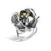 Gallica - Silver Dusk Bloom Ring - Topaz Jewelry USA - ROBERTO BRAVO - 2