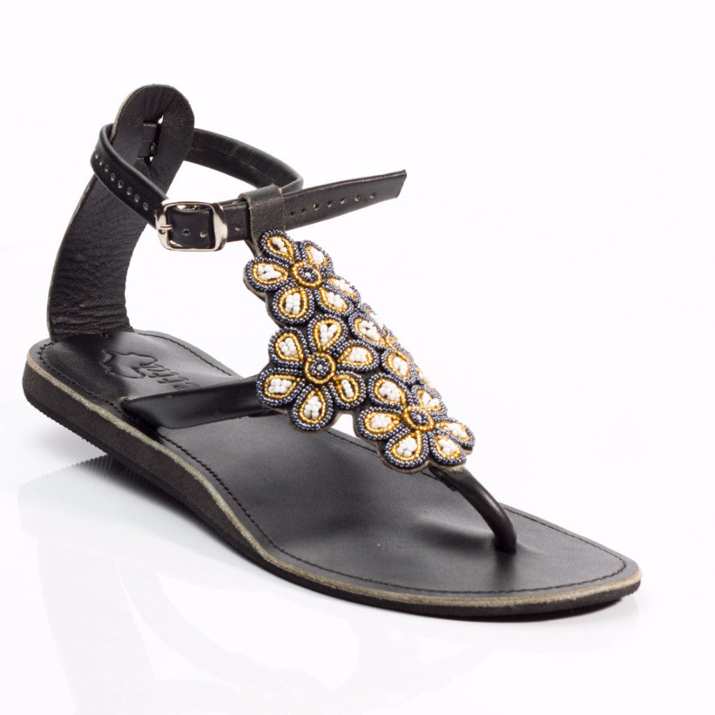 Ikwetta is a brand handmade in Kenya. We are a Kenyan brand of Maasai Sandals. These beautiful beaded sandals from Kenya are ethically produced in Nairobi. We believe in pure leather products and source genuine leather from Africa's only LWG Gold rated tannery.
