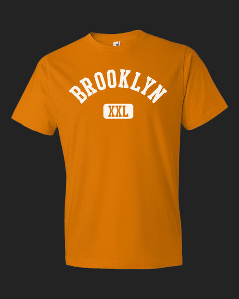 Brooklyn XXL Tee White print