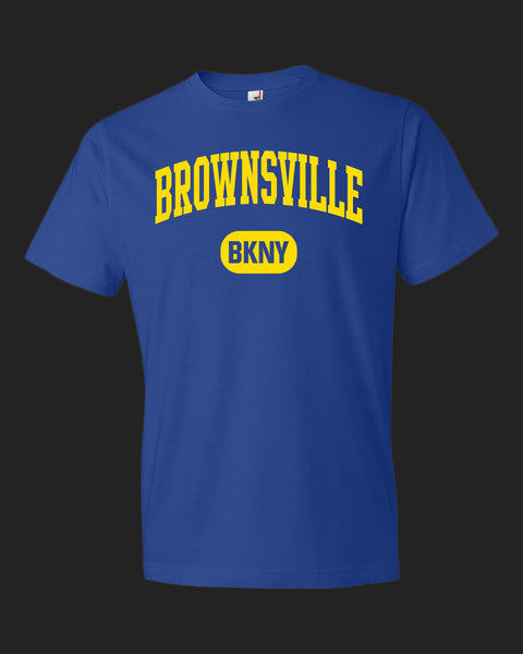 BROWNSVILLE BKNY golden yellow ink