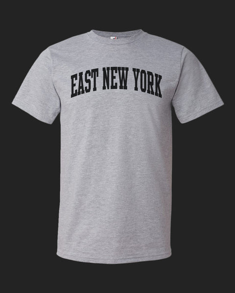 East New York- Black on Gray Tee