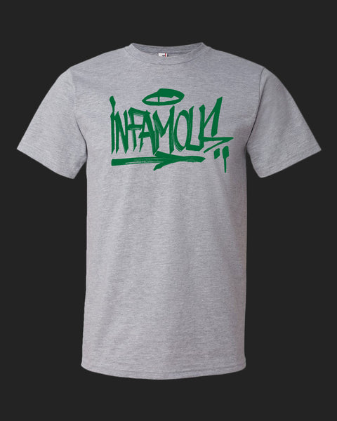 Infamous Handstyle - Green Print