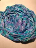 "The ""Activity Scarf"" - Hand-dyed silk scarf -$85"