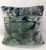 """Crushed Velvet"" Silk Throw Pillows (2) - ON SALE $75"