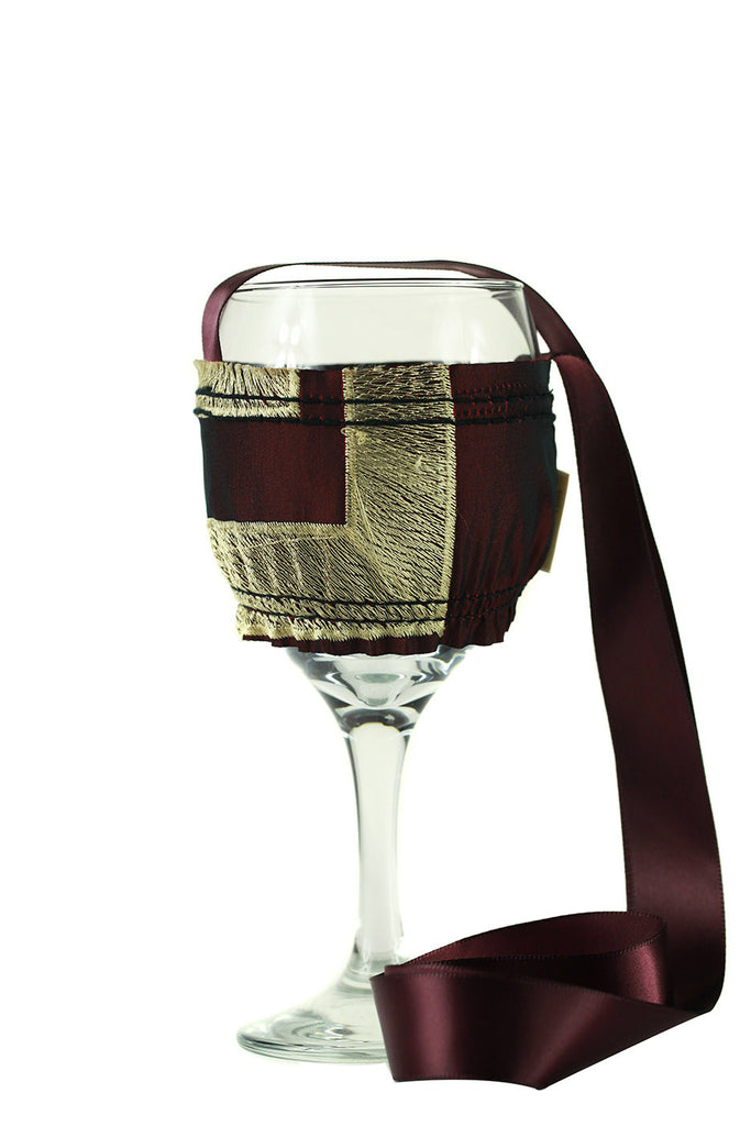 VERSACE Collection Wine Necklace Holder Small - FashionHomeGift