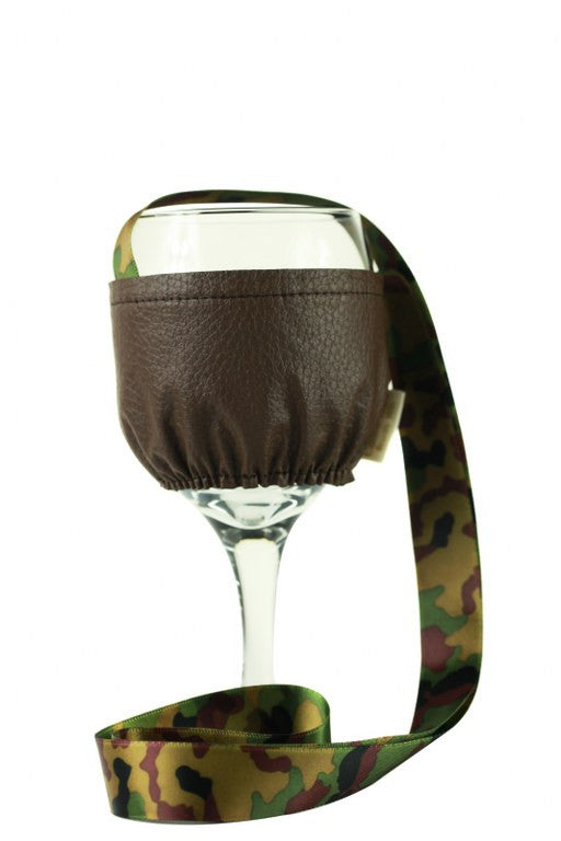 Espresso Collection Wine Necklace Holder Small