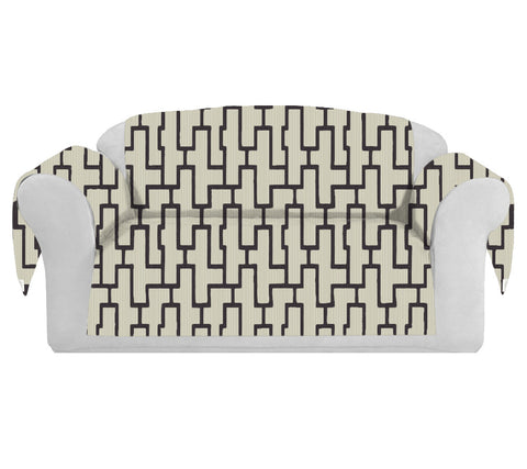 Blocc Decorative Sofa / Couch Covers Collection Beige-Brown. - FashionHomeGift