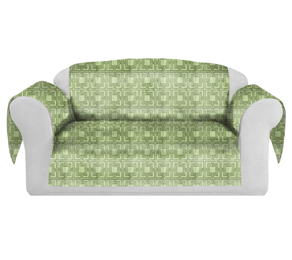 Tagon Decorative Sofa / Couch Covers Collection Lime. - FashionHomeGift