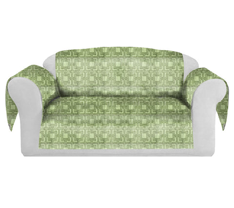 Tagon Decorative Sofa / Couch Covers Collection Lime.