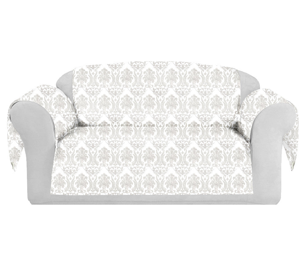RichCotton Decorative Sofa / Couch Covers Collection White. - FashionHomeGift